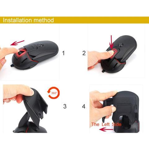 um botao deformacao para brisa suporte mouse design criativo