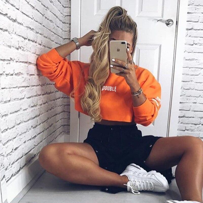 2019 New Hot Ladies Fashion Show Thin Loose Long-sleeved Female Round Collar Fleece Jacket