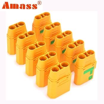 Conectores AMASS XT90S 90A, anti chispa, adaptador macho hembra para baterías de litio, Lipo, li-ion, LiFePO4, XT90-S 1
