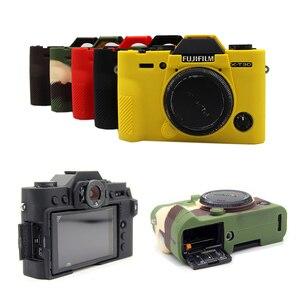 Image 4 - سيليكون المطاط حالة حقيبة كاميرا الجسم غطاء ل فوجي فوجي فيلم XT3 XT 3 XT10 XT20 X T30 X A3 X A10 X T20 X T100 حامي قذيفة