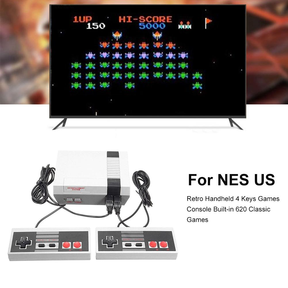 Прочная игровая консоль Мини ТВ Видео портативная игровая консоль нелегко повредить встроенные 620 игр подходит для Nintendo Switch