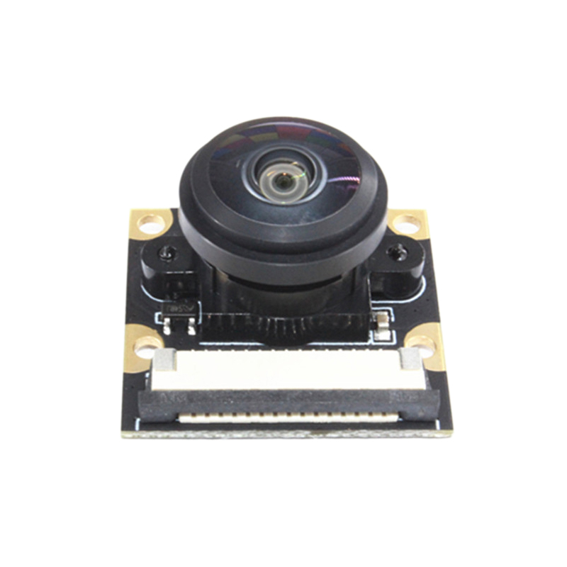 8MP Camera Module IMX219 For Jetson Nano Wide Angle 200 Degree FOV 3280 X 2464 Camera With 15 Cm Flexible Flat Cable