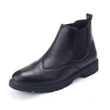 Сезон осень-зима; ботильоны «Челси»; Мужская обувь в винтажном стиле; классические мужские кожаные повседневные ботинки для езды на мотоцикле; цвет черный, коричневый