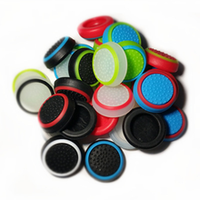 2pcs Silicone Analog Thumb Stick Grips Cover for Xbox 360 One Playstation 4 PS4 Pro Slim PS3 PS2 Gamepad Cap Joystick Cap Cover
