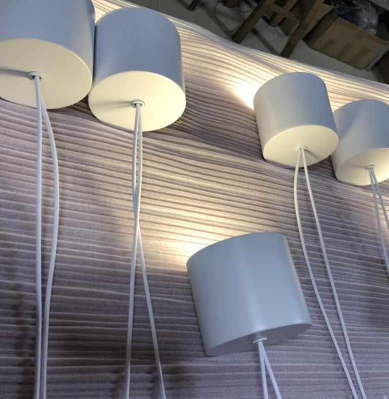Современная линейная проволочная лампа Подвесная лампа для спальни освещение дизайнерская светодиодная промышленная Подвесная лампа Лофт Декор Подвесная лампа люстры светильники