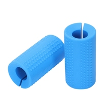 Dumbbell Grips Silicone Fit Barbell Thick Bar Adapter Muscle Builder Weightlifting Training Bodybuilding Equipment