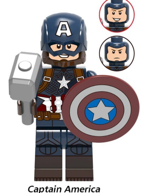 NEW Super Heroes LEGOED Marvel Avengers Infinity War Iron Man Thanos Thor Hulk Building Blocks toy 4