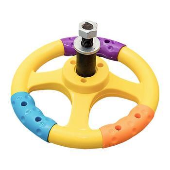 1 Pc Kid Toy Car Bumper Car Steering Wheel Universal Steering Wheel with Screw 1