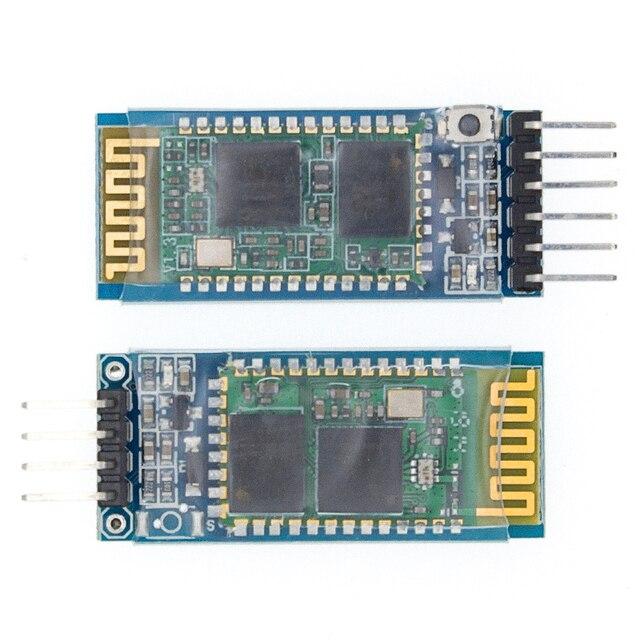 HC 05 HC 06 maître esclave 6pin/4pin anti inverse, module de passage série Bluetooth intégré, série sans fil pour arduino