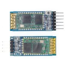 HC 05 HC 06 master slave 6pin/4pin anti reverso, módulo de paso de serie Bluetooth integrado, serial inalámbrico para arduino