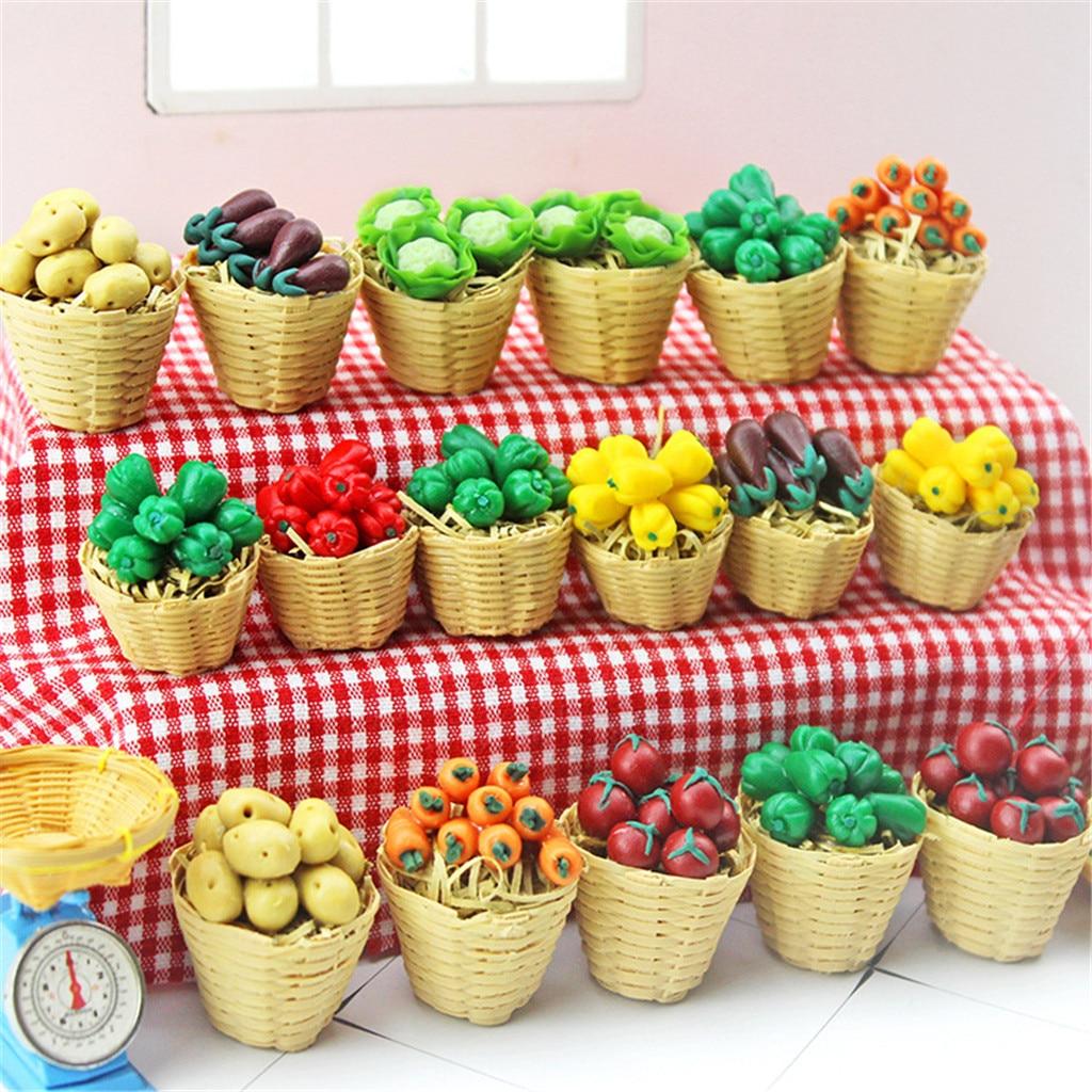 Concombre CUTICATE Lot 10pcs 1:12 /Échelle Dollhouse Fruit Miniature Mini Alimentaire