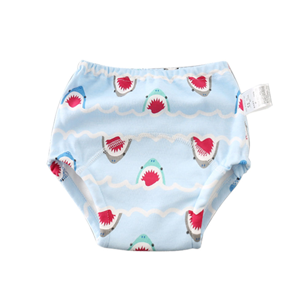 1 Pc New Cute Cartoon Baby Training Pants 6 Layers Cotton Reusable Potty Training Underwear For Toddler Kids Girls Boys Washable