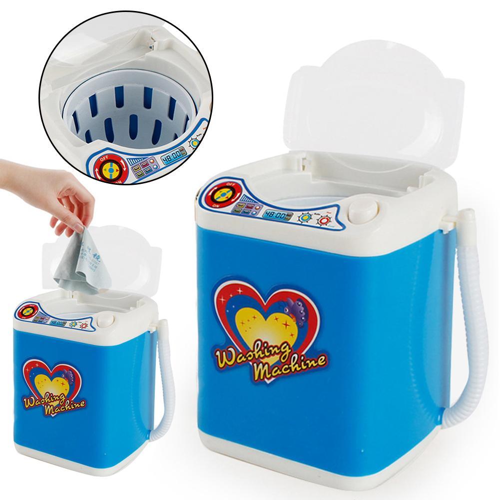 Electric Washing Machine Toy Makeup Brushes Cleaning Dehydration Dryer Mink Lashes Extension Eyelash Mink Eyelashes For Beauty