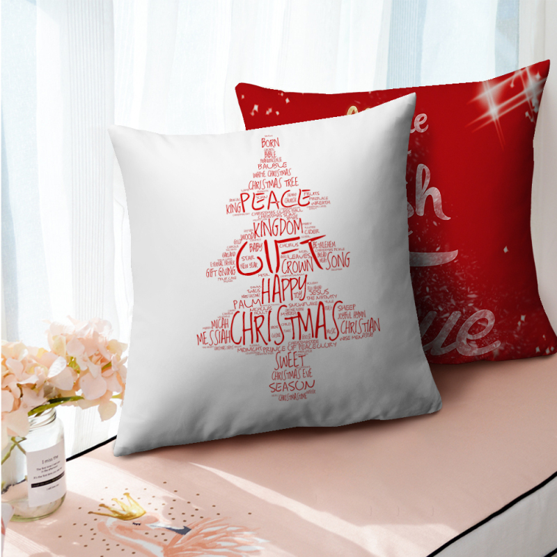 Купить наволочки nanacoba с рисунком красного дерева рождественский