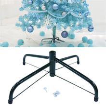 New High-quality Folding Christmas Tree Metal Stand Base Rack Accessories For Decorations Wholesale