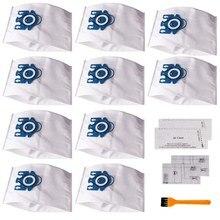 Remplacement de sacs à poussière pour aspirateur Miele GN AirClean 3D, 15 pièces