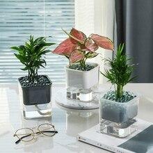 10*17*6cm Bledyi Vase de fleurs en plastique transparent traditionnel /épais et robuste parfait pour les vraies fleurs ou artificielles transparent