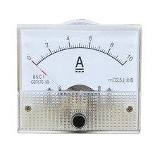1 шт. DC пластиковая аналоговая указка амперметр ампер Панель 1A 2A 3A 5A 10A 20A 50A 100A механические токовые метры 64*56 мм