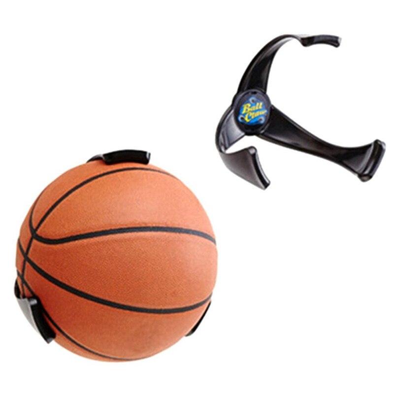 22020 New Fashion Useful Plastic Ball Claw Wall Mount Basketball Football Holder Storage Rack