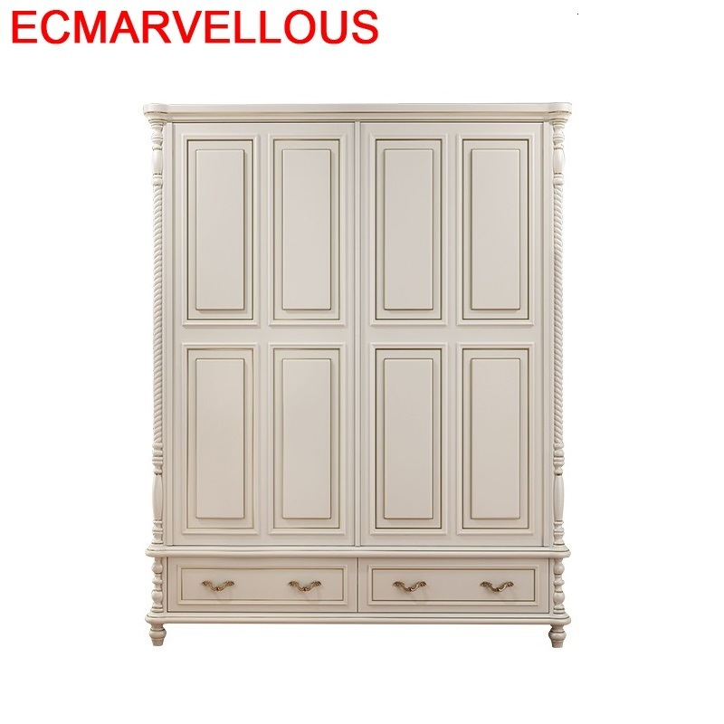 Bois Armario Mobili Per La Casa Armadio Chambre Yatak Odasi Mobilya Roupeiro européen placard meubles Chambre armoire