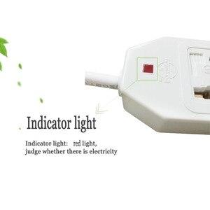 Image 3 - Новые путешествия адаптер Eu Us Au штепсельная розетка стандарта Великобритании Универсальный адаптер переменного тока в постоянный ток на выходе Мощность полосы Многофункциональность удлинитель 0,5/1/1.5/2/3/5m 3500W