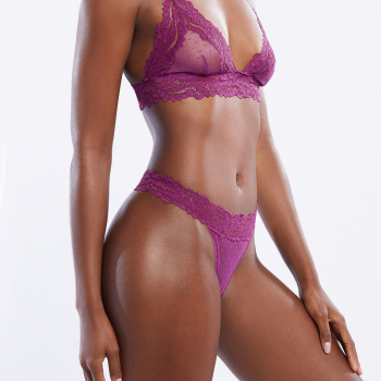 Sexy Lace Panties For Women Low Waist Transparent Breathable Ladies Briefs Thong T Back Femme Underwear Hot Sale Girls Lingerie 3