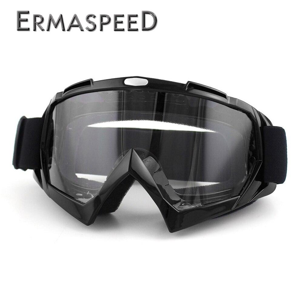 Óculos De Motocross Capacete MX Goggles Steampunk 100% À Prova de Vento Ski Moto Cruz Chopper Cafe Racer Óculos ATV Dirt Bike Homens Eyewear