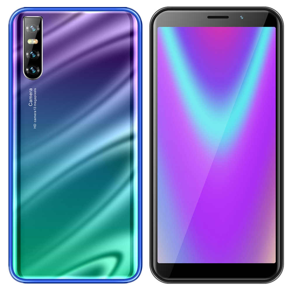 Оригинальные мобильные телефоны S10 4 Гб + 64 Гб распознавание лица 6,0 дюймов 13 Мп Android разблокированные смартфоны четырехъядерный мобильный телефон