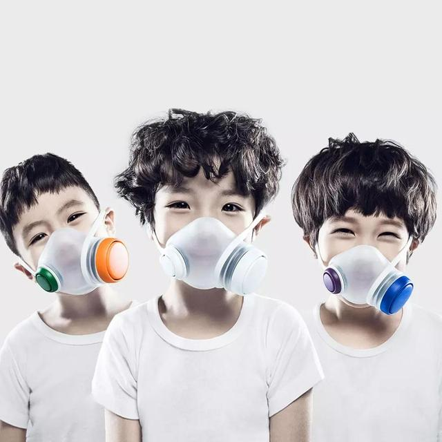 2020 Xiaomi Woobi Play Face Masks Filter Respirator Mask PM2.5 Anti-Dust Pollution Mouth Cover Breath Valve For Adult Kids 4