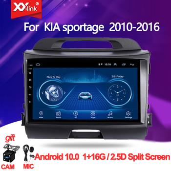 Android 10.0 for KIA sportage 2010 - 2016 Car Radio multimedia player autoradio video GPS Navi audio stero WiFi mic no 2 din image