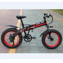 """48V 1000W Motor 14AH SAMSUNG Lithium Battery Fat E-Bike 20 inch Fat Tire Electric Bike Electric Bicycle Free Shipping cheap SMLRO 500w 20"""" 30-50km h Brushless Aluminum Alloy 31 - 60 km Two Seat Luxury Type 1000W Rear Hub Motor 48V 14AH SAMSUNG Lithium Battery"""