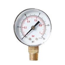 Радиальный Манометр Высокая точность барометр гидравлический манометр давление воды точный измеритель манометр