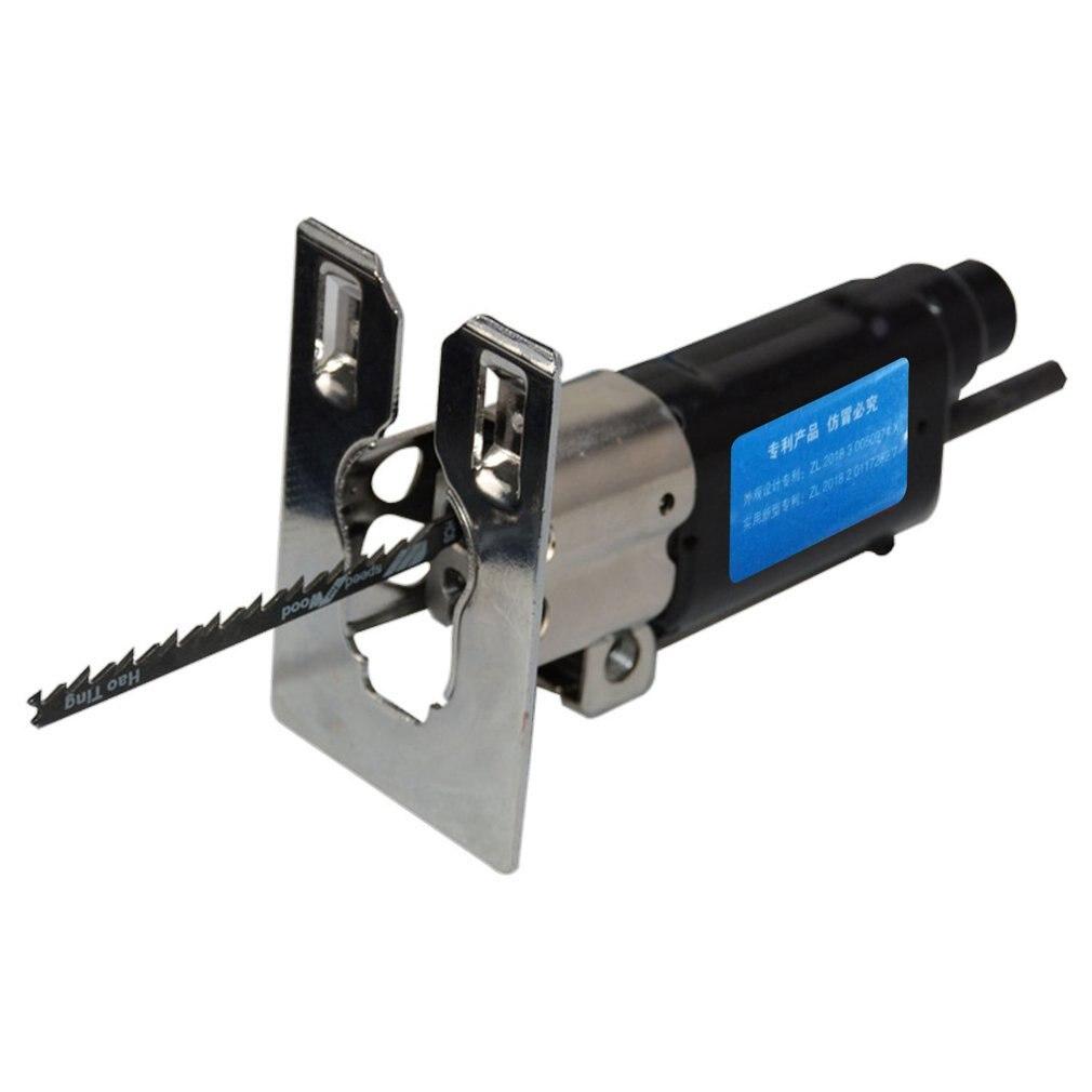 Aletler'ten Elektrikli Alet Setleri'de Çok fonksiyonlu akülü pistonlu testere eki ahşap Metal dosya kesme aracı elektrikli matkap Jig güç aracı aksesuarları title=
