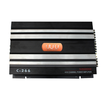 4-Channel Car Amplifier Vehicle Amplifier Power Stereo Amp Push Subwoofer And Speaker