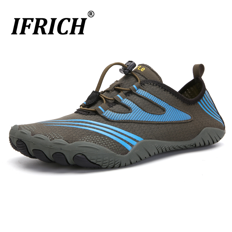 Men's Women's Water Shoes Outdoor Beach Swimming Aqua Socks Quick-Dry Barefoot Sport Hiking Aqua Sneakers Couple Walking Shoes