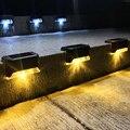 8/16/20 штук светодиодный солнечный светильник путь лестницы на открытом воздухе Водонепроницаемый настенный светильник сада Ландшафтный ша...