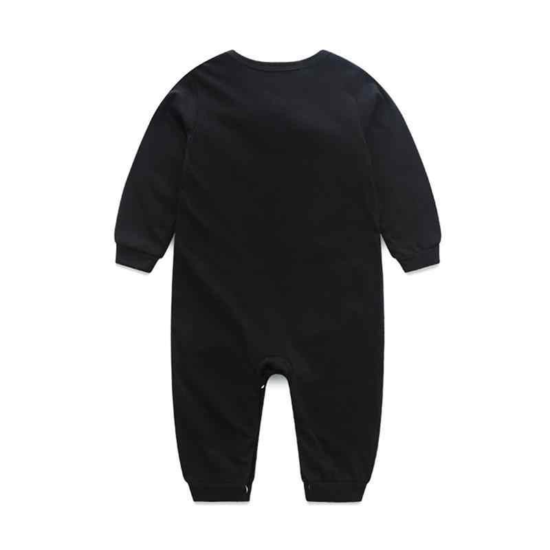 2019 Herfst Baby Jongens Romper Baby Formele Gentleman Bowtie Lange Mouwen Jumpsuit Baby Kleding Peuter Rompertjes Kid Kerst