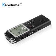 חדש 8 GB/16 GB/32 GB מקליט קול USB מקצועי 96 שעות דיקטפון הדיגיטלי אודיו מקליט קול עם WAV MP3 נגן