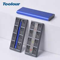 Toolour  48 in 1 Multi-Tool Magnetic Screwdriver Set Precision Tool Kit Repair Laptop Phone Watch with Alloy Case Repair Kit