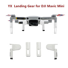 Shock-absorb Landing Gear For DJI Mavic Mini 2 Drone Accessories Foldable Extension Legs Protective Support Accessory for Mini