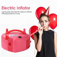 Heart Shaped Electric Air Balloon Inflator Wide Scope of Application Practical Economy Double Hole Balloon Inflatable Pump