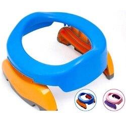 Портативный для малышей Camera Pots Foldaway сиденье для унитаза, дорожное Горшечное кольцо с мочеприемником для детей, мальчиков и девочек