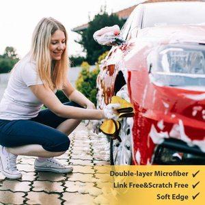 Image 5 - منشفة غسيل السيارة من الألياف الدقيقة ، 3/5/10/20 قطعة ، قماش تجفيف ، دهان ، عناية ، غسيل السيارات ، أدوات التنظيف