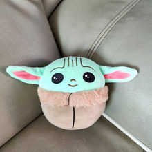 13CM Disney Baby Yoda Plush Toy Cartoon Mandalorian Stuffed Doll Anime Kawaii Plush Dolls Star Wars Toys Kids Birthday Girl Gift
