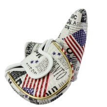 NRC Putter Head Covers Set Golf Blade Putter Head Covers Mallet Headcovers 1PCS Thick PU for Men Women