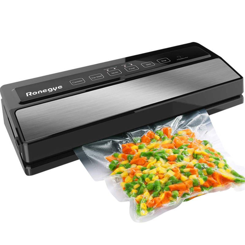 Vacuum Food Sealers Household Food Preservation Machine Vacuum Wrapper Small Fully Automatic Smart Touch