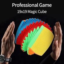 Дети игрушки 19x19 Magic Cube Взрослые стресс облегчение Professional Game Classic Magic Cube Puzzle Toys Cool Education Toy BC50MF