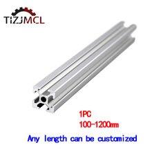 1pc Aluminum Profile T-Slot Aluminum Extrusions 2020 For CNC Laser Engraving Machine 3D Printer Camera Slider Furniture 100-1200