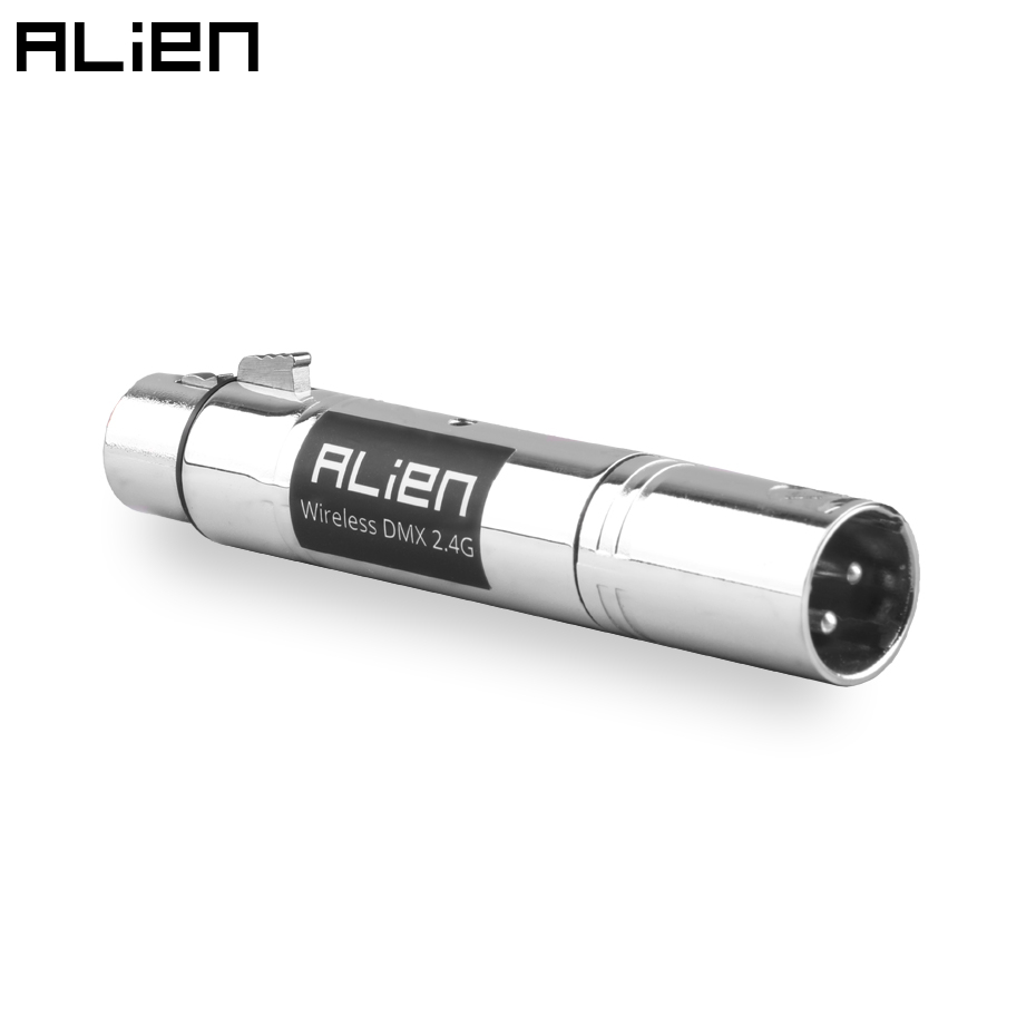 ALIEN 3 Pin XLR Mutifunctional DMX512 Optical Repeater Signal Amplifier Input To Output For DJ Disco Laser Stage Equipment Light