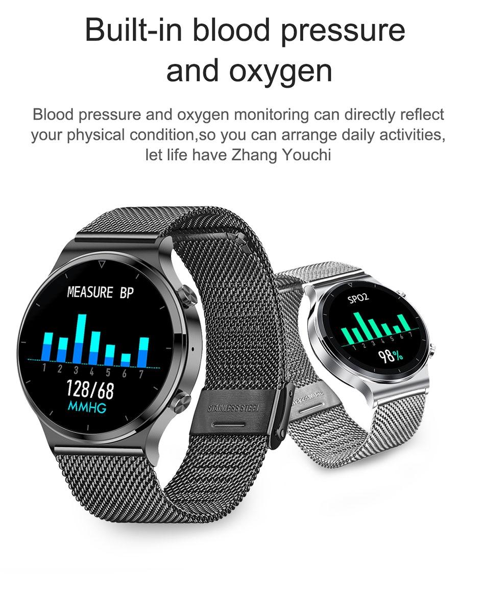 H5ee6d08c003744b89eeddf6211dad565T LIGE 2021 New Smart watch Men IP68 waterproof watch Multiple sports modes heart rate weather Forecast Bluetooth Men Smart watch